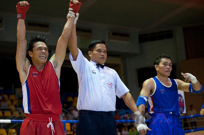 Chiến thắng là phần thưởng xứng đáng cho võ sĩ VN