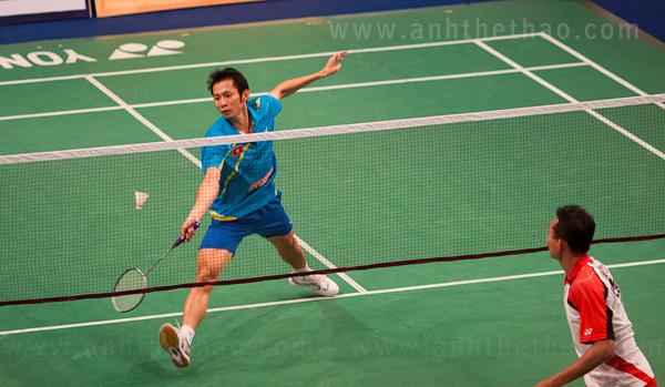 Tiến Minh và Tay vợt người Indonesia