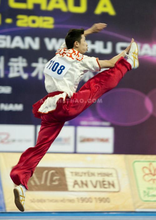 Môn Taolu (biểu diễn quyền) trong wushu