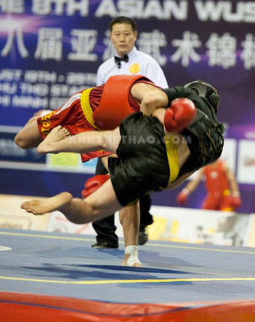 Môn Tán thủ (đối kháng) trong wushu