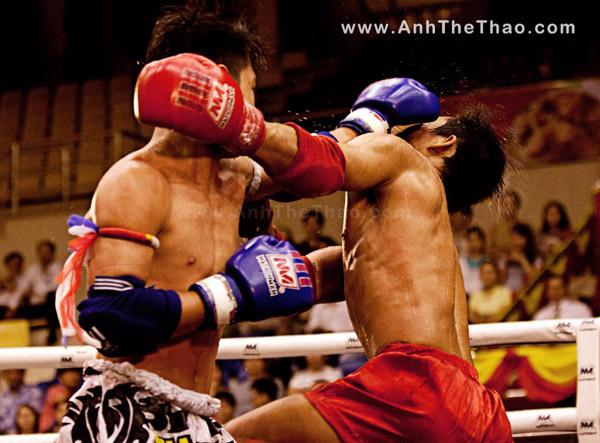 Muya Thái giao hữu - ảnh Jimmy Teo