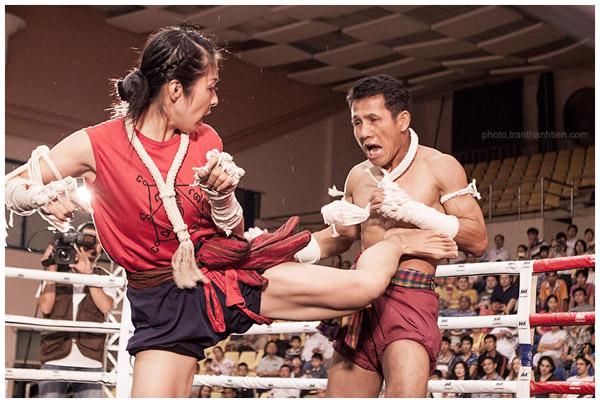 Muya Thái giao hữu 2012 - ảnh Trần Thành Tiến