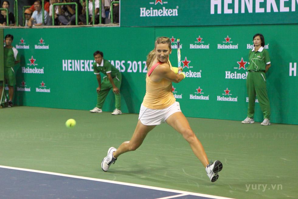 Tay vợt nữ trẻ số 1 thế giới Victoria Azarenka