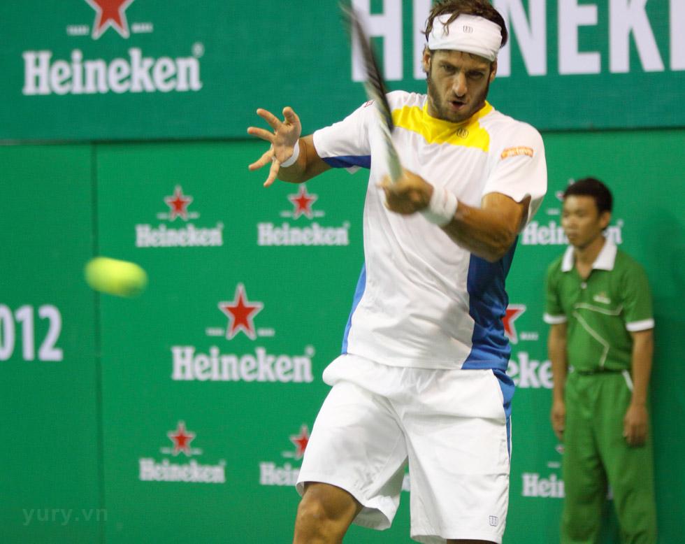 Tennis Heneiken Stars 2012 - Tay vợt Feliciano Lopez