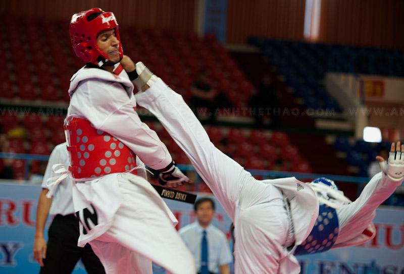Chung kết Taekwondo quân sự thế giới - ngày thứ 1