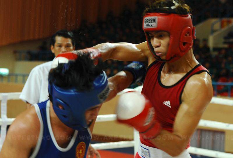 Võ sĩ boxing TP.HCM liên tục dành điểm