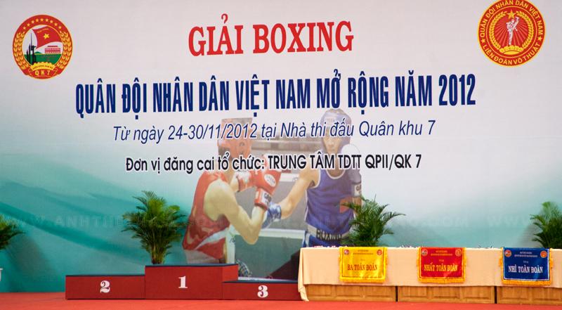 Giải Boxing quân đội 2012