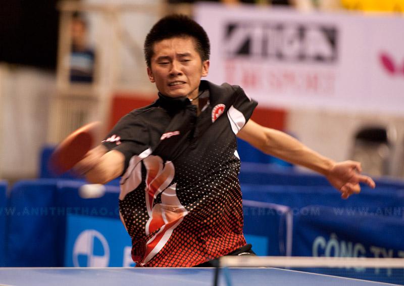 Anh thi đấu khá vất vả trước tay vợt Hàn Quốc