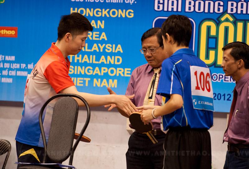 Chung kết đơn nam Hàn quốc và Nhật Bản