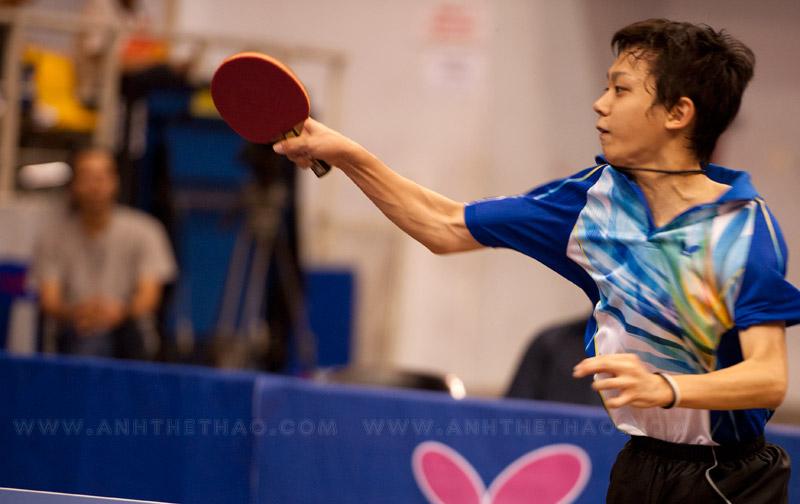 Tay vợt Nhật khá vất vả trước Lee Jin Kwon