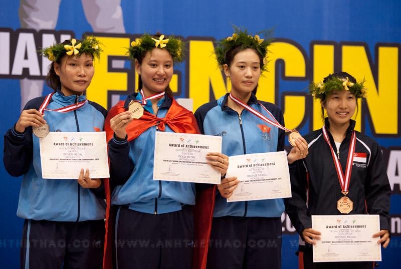 Nguyễn Thị Tươi dành huy chương vàng kiếm liễu nữ