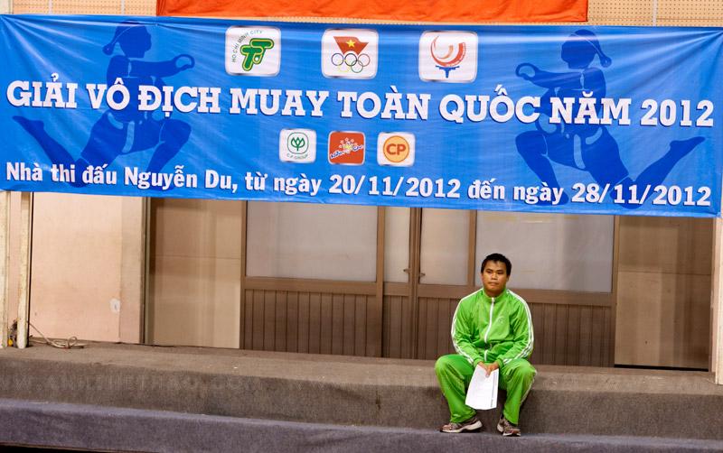 lịch thi đấu Muay Thái toàn quốc 2012