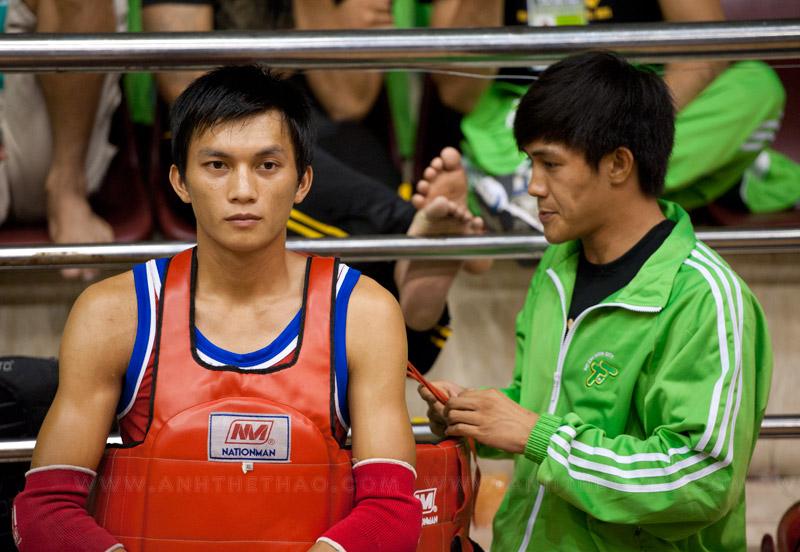 Nguyễn Trần Tự Do chuẩn bị giáp thi đấu