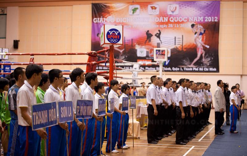 Lễ khai mạc Muay Thái toàn quốc 2012