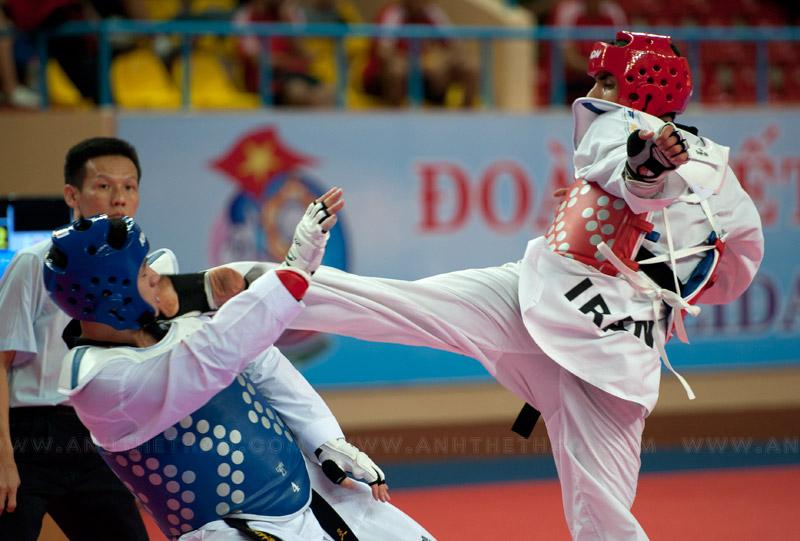 Trận chung kết giữa Iran và Hàn Quốc
