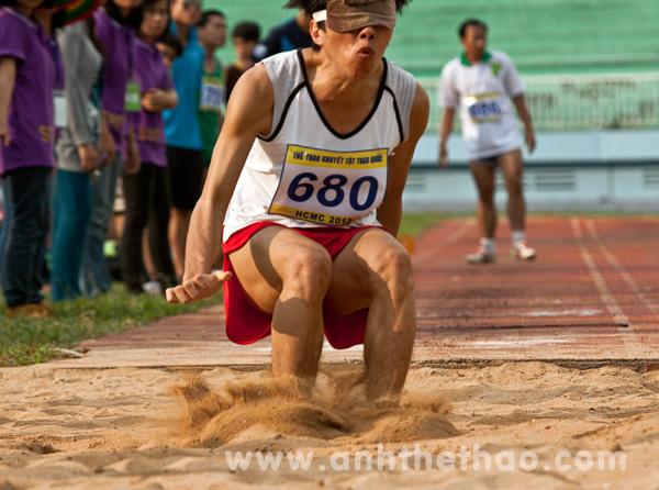Giải thể thao người khuyết tật toàn quốc 2012