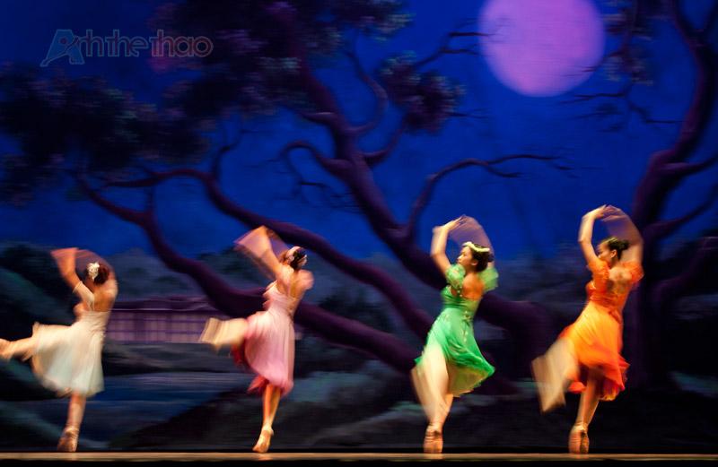 Các nàng tiên nhảy múa trong đêm