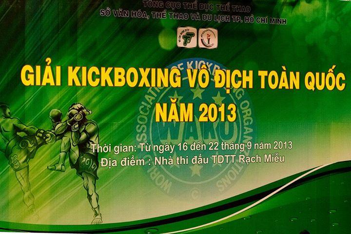 Lịch thi đấu Kick Boxing