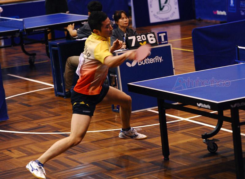 Tay vợt Hàn Quốc với khả năng phản xạ thật nhanh