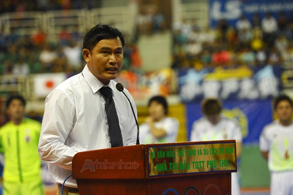 Phát biểu khai mạc Giải Futsal quốc tế 2013