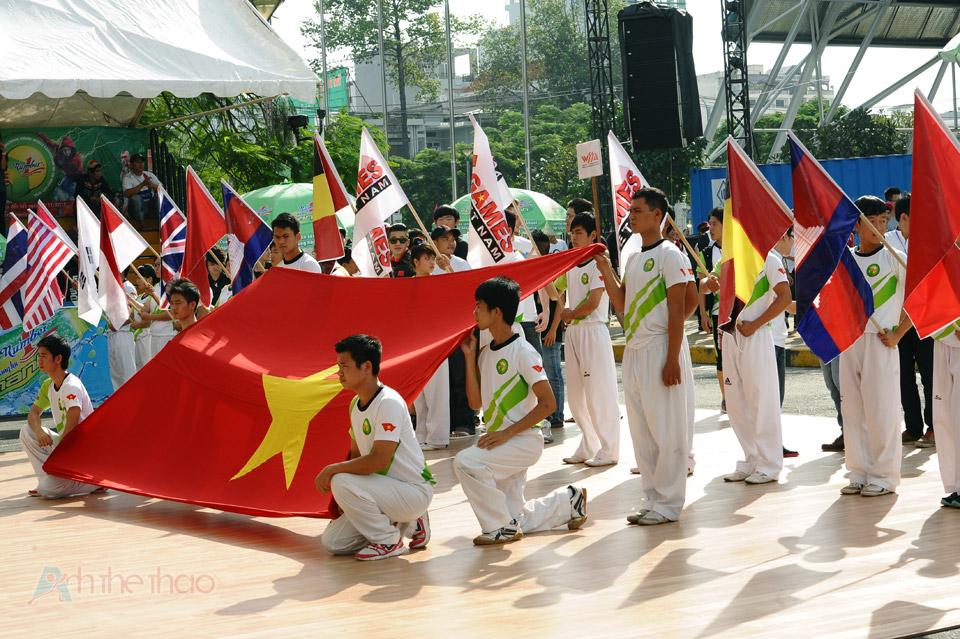 Hát quốc ca Việt Nam