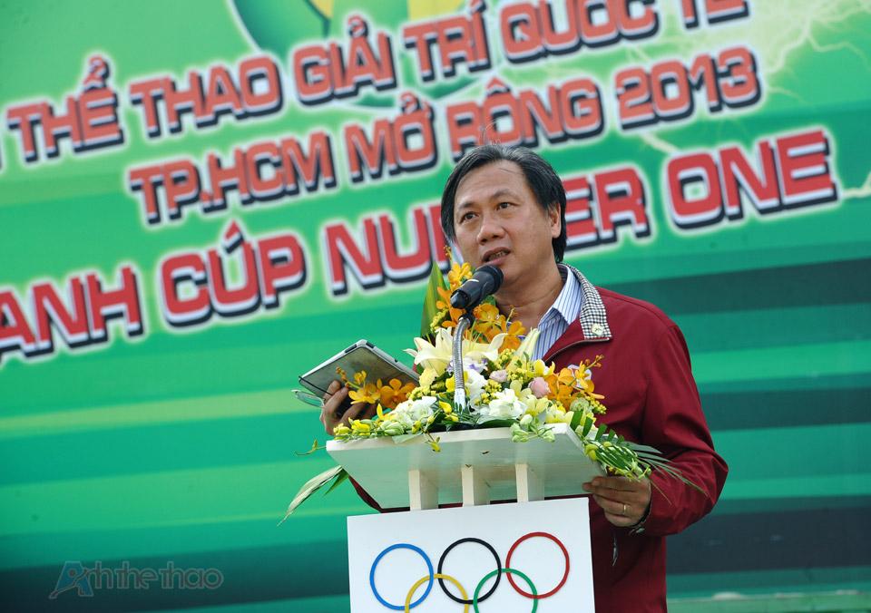 Ông Mai Bá Hùng - Phó GĐ Sở VH-TT-DL TP. HCM phát biểu