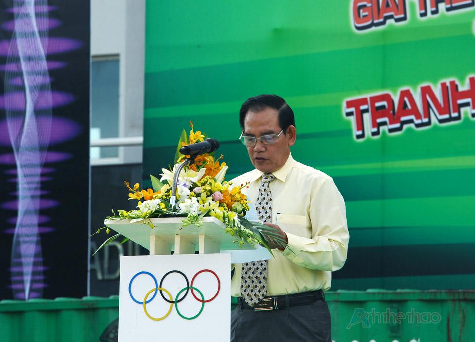 Giám đốc truyền thông Công ty Tân Hiệp Phát phát biểu