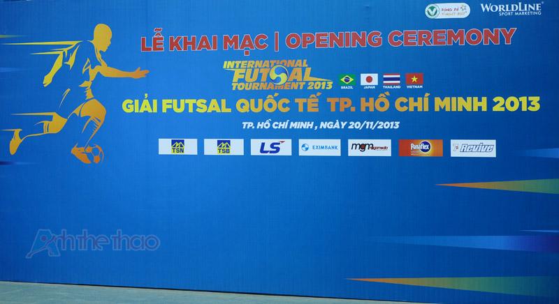 Giải Futsal quốc tế TPHCM 2013