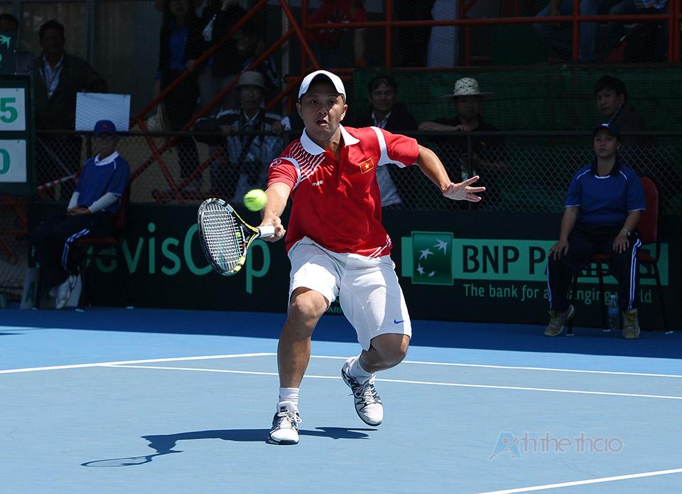 Tay vợt Ngô Quang Huy