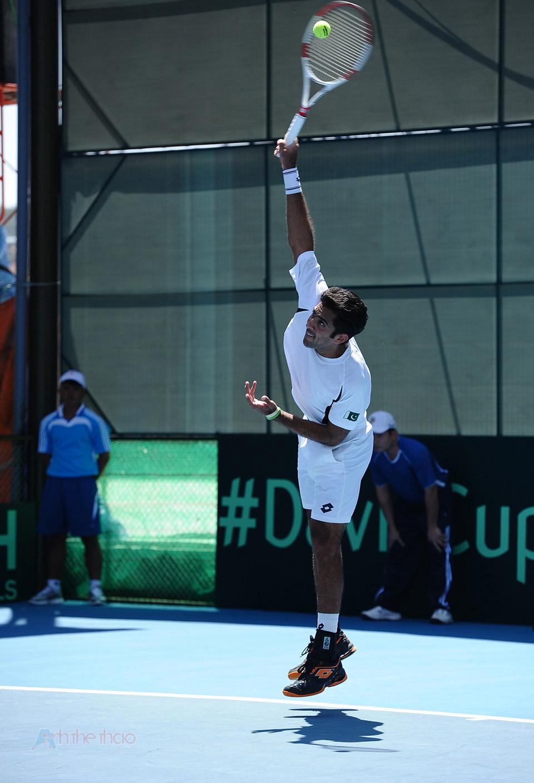 Aisam-Ui-Haq Qureshi tay vợt Pakistan hạng 18 thế giới