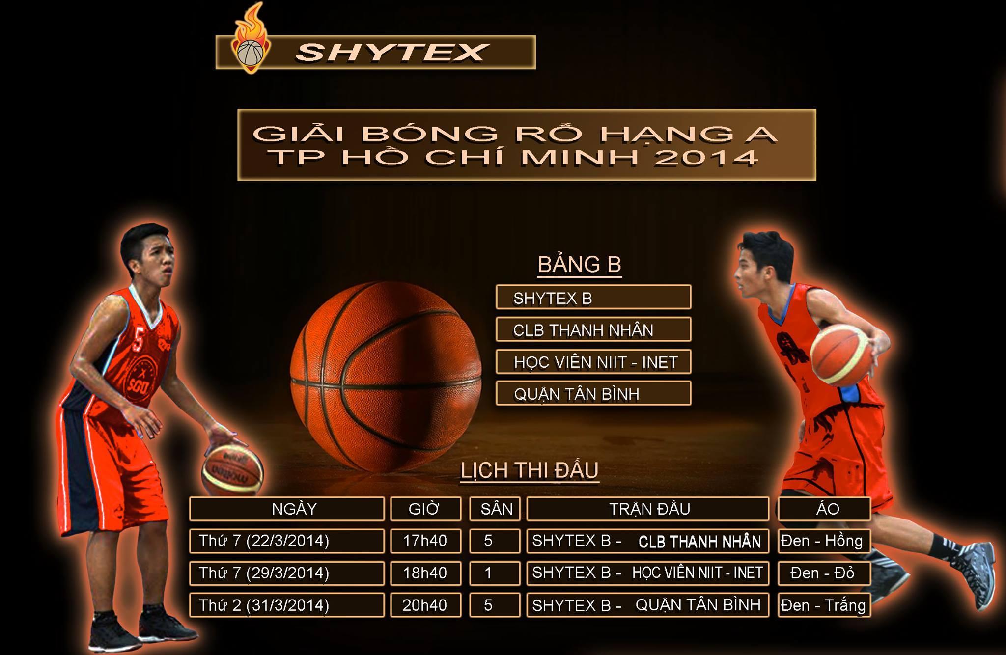 Giải bóng rổ hạng A 2014
