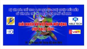 Giải khiêu vũ Việt Nam mở rộng 2014