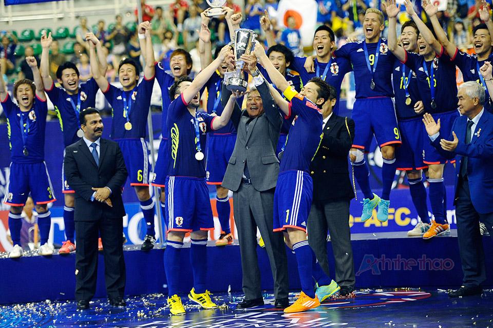 Chúc mừng nhà vô địch Futsal Châu Á 2014