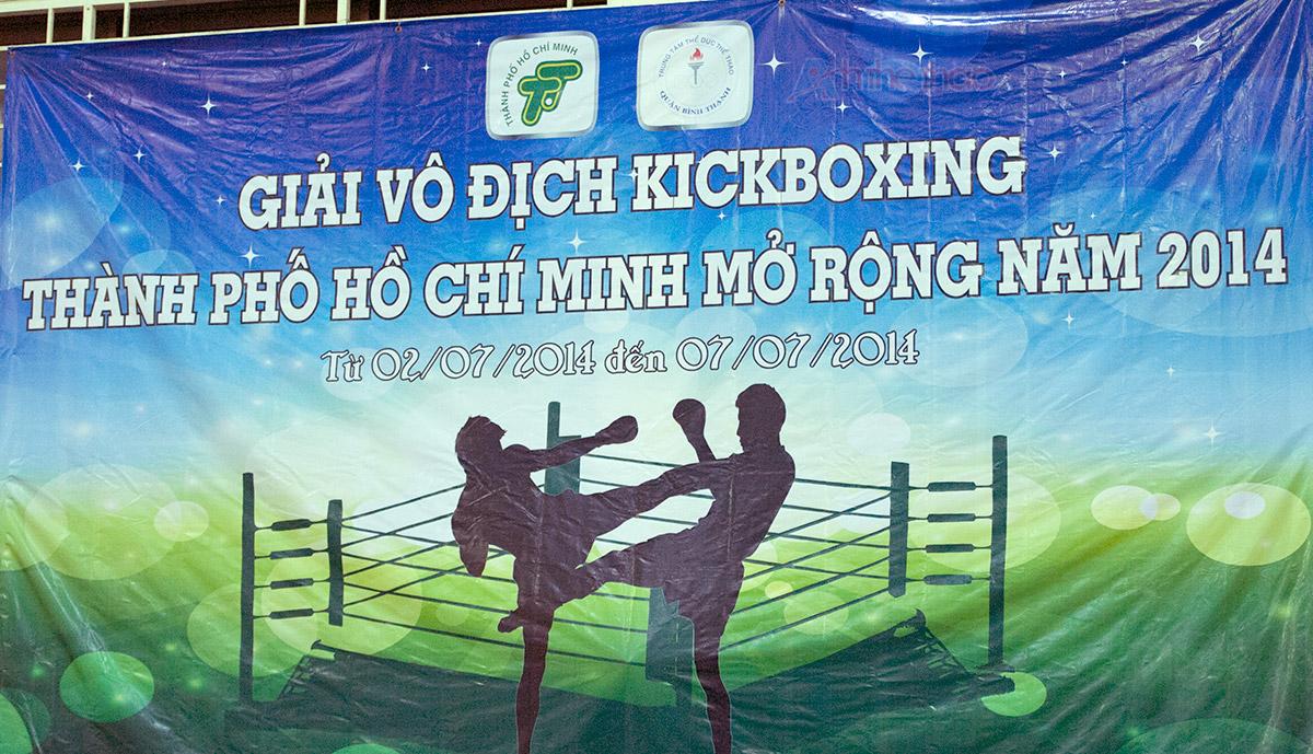 Lịch thi đấu giải Kickboxing TPHCM mở rộng 2014