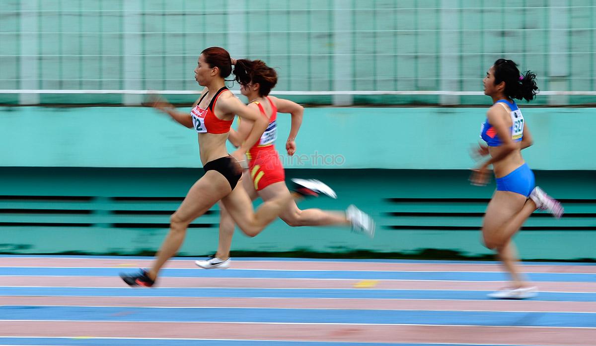100m: 100mR - Vũ Thị Hương