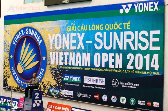 Giải Yonex Sunrise Việt Nam mở rộng 2014