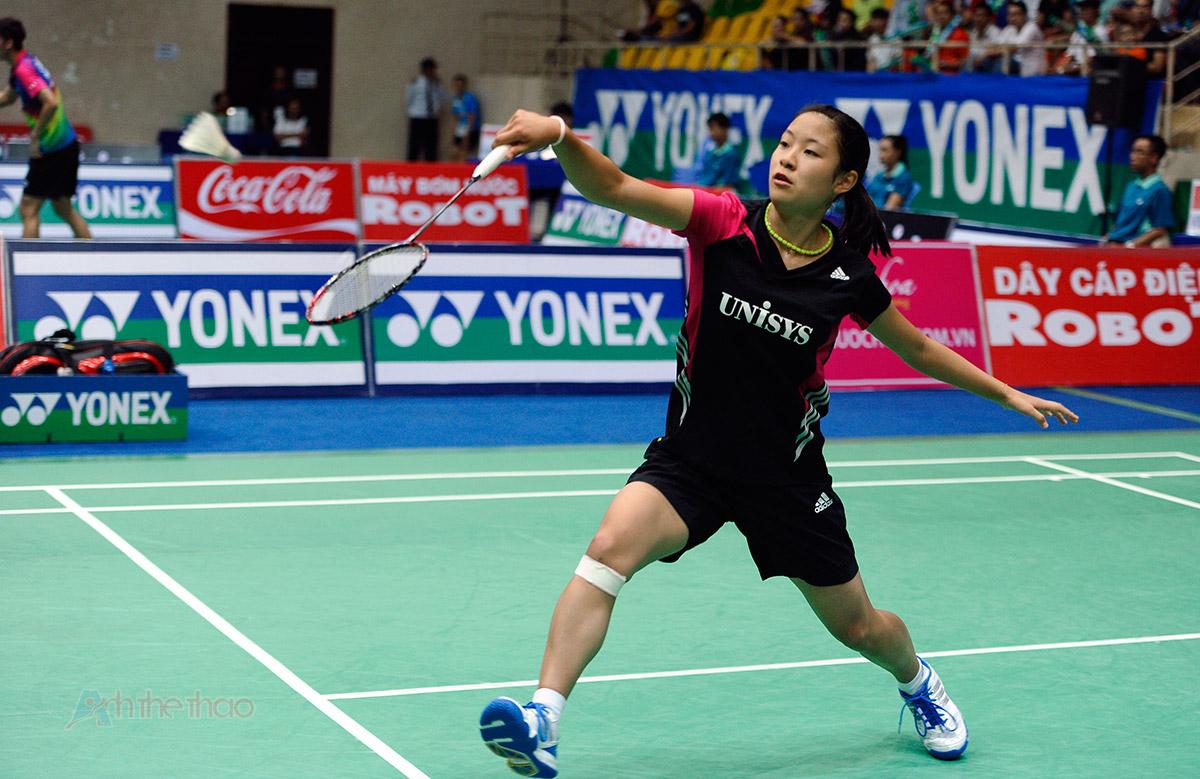 tay vợt Nozomi Okuhara (Nhật Bản)