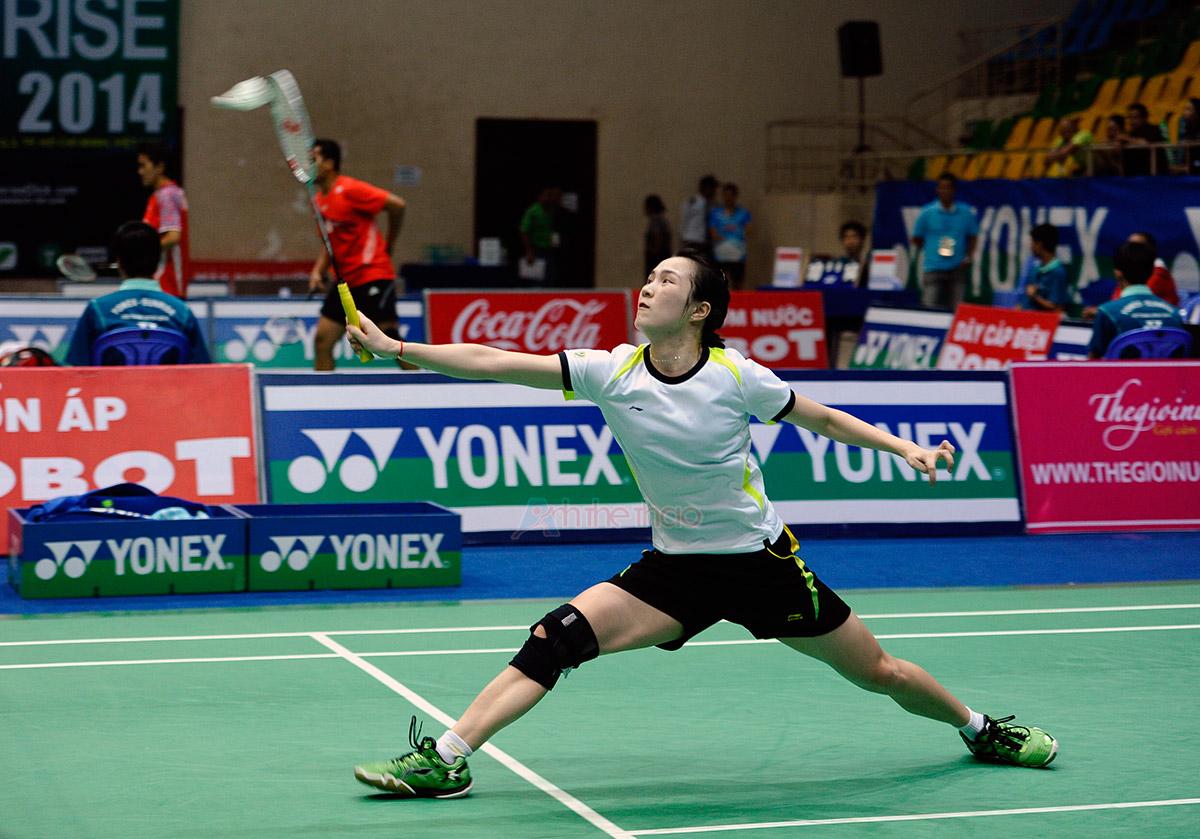 Tay vợt Vũ Thi Trang