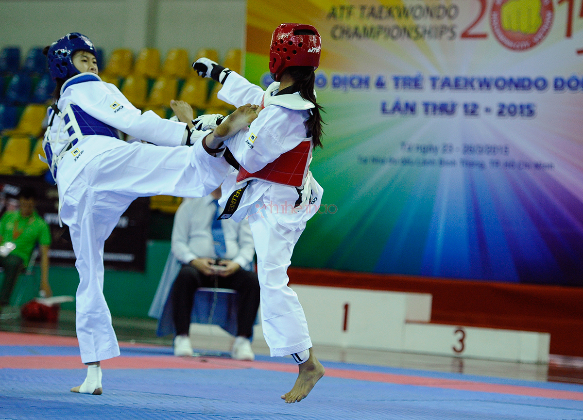 Lịch thi đấu Giải Taekwondo Đông Nam Á 2015