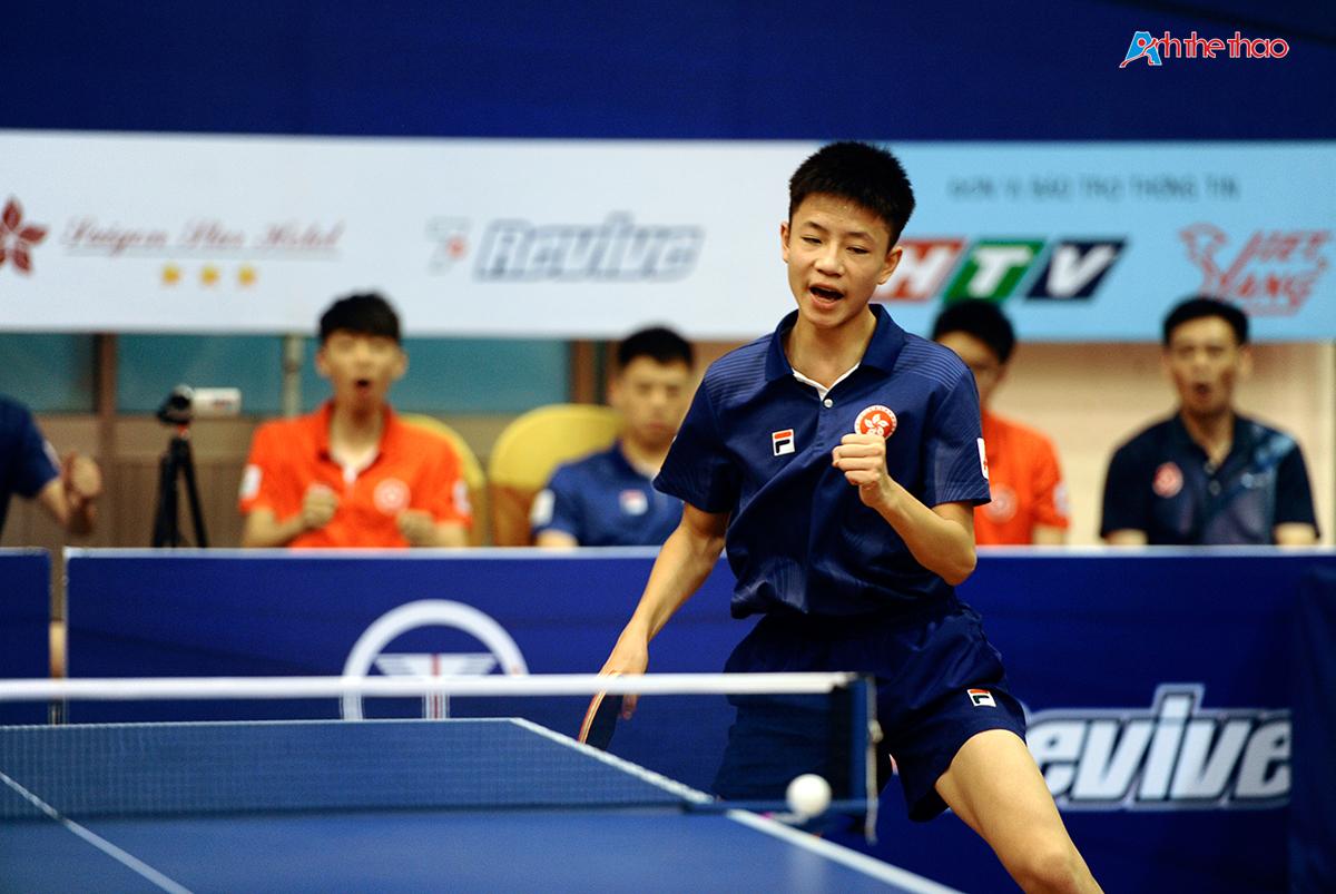 Tuyển thủ trẻ Hong Kong