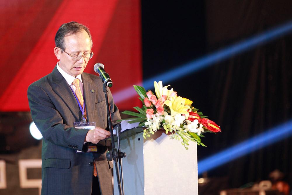 Ông Chung Wha Tee Chủ tịch hiệp hội võ thuật thế giới