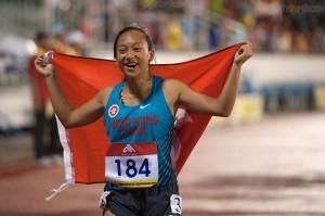 VĐV Hong Kong về nhất nội dụng 100m