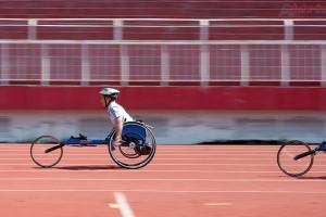 400m xe lăn - Giải thể thao người khuyết tật toàn quốc năm 2016