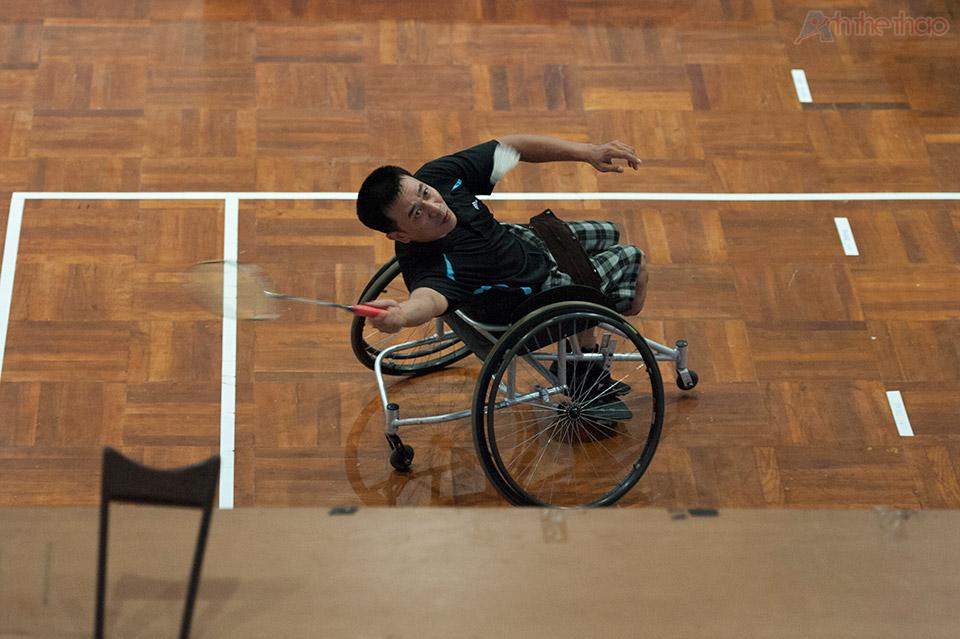 Môn cầu long cho người khuyết tật