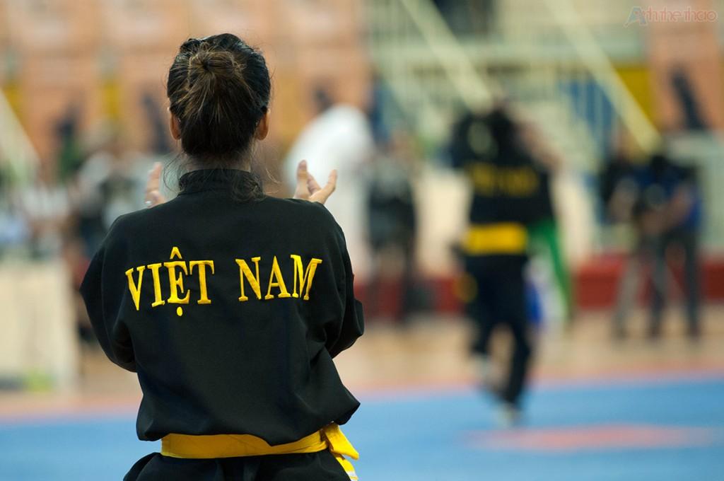VĐV Viêt Nam thi quyền