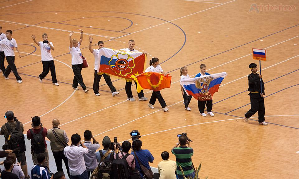 Đoàn VĐV Nga