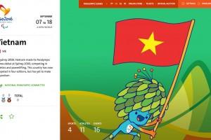 Lịch thi đấu đoàn thể thao Việt Nam tại Paralympic 2016