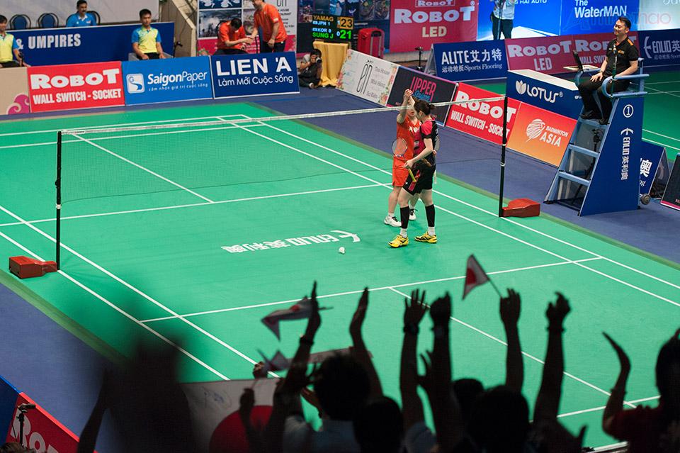 Yamaguchi dành chiến thắng với tỉ số suýt soát 23-21