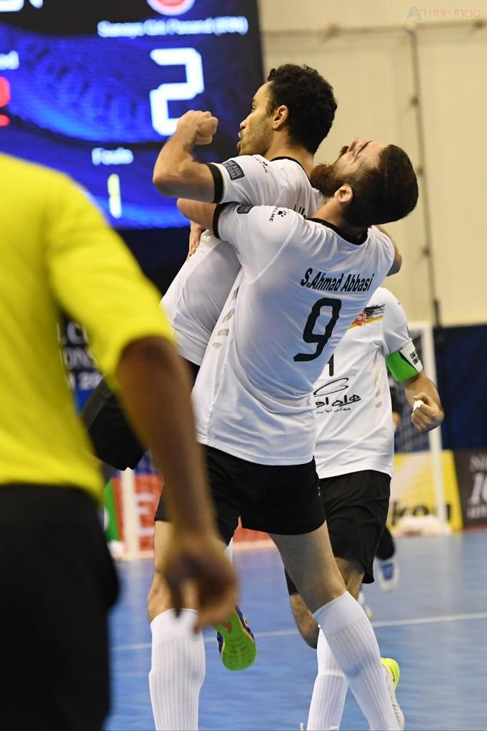 Ở phút 18:16, từ pha lên bóng ở khu trung tuyến, cầu thủ số 11 truyền bóng cho Suphawut đệm bóng vào góc cao khung thành Iran, giúp Thái Lan vượt lên 3-2