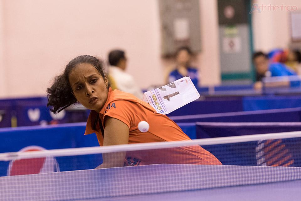 Tay vợt Ấn Độ Nikha Banu